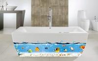 Free shipping! AY917 cartoon wall sticker bathroom wall stickers kitchen wall decoration 60*90cm