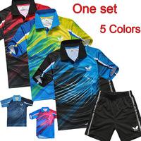 Butterfly  table tennis suit plastic save shirt ,Table Tennis , Table Tennis clothes Men , polo shirts (shirt+short)