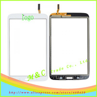By hk free shipping touch screen For Samsung SM-T320 Galaxy Tab PRO 8.4 WiFi tablet +track number