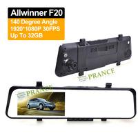 2014 New Arrival D65 Full HD 5.0MP CMOS Rearview Mirror Car DVR+140 Degree Wide Angle+Allwinner+Emergency Lock+Video Taking