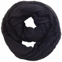 C&A Free shipping Europe fashion new style spring autumn neckerchief scarf Ring black crinkle scarves men women