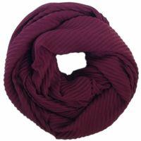 C&A Free shipping Europe fashion new style spring autumn neckerchief scarf Ring maroon crinkle scarves men women