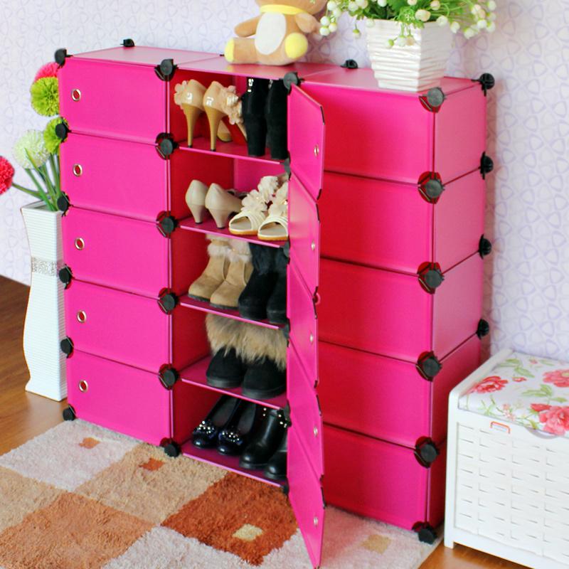 Achetez en gros diy meuble de rangement chaussures en for Rangement chaussures diy