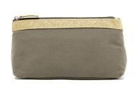 H1634 PARIS Fashion Bicolor Top zip Cosmetic Bag Purse Multifuction Organize Bag Free shipping wholesale drop shipping J13
