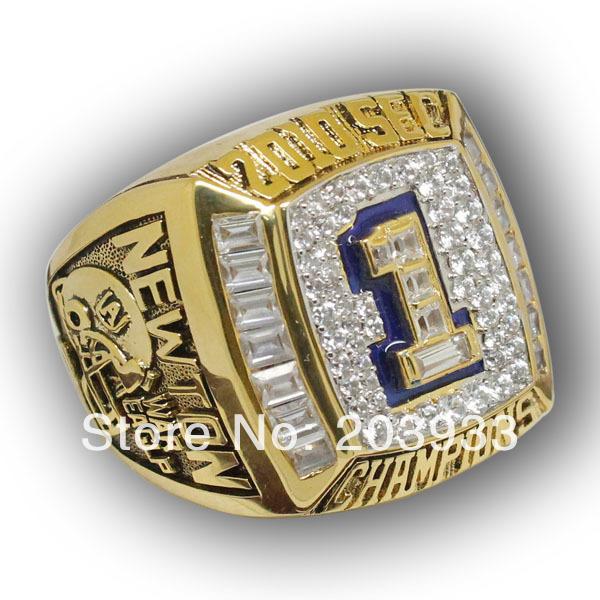 SEC 2010 Florida State University Seminole National Championship Ring Custom