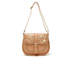 H1767 OO Hollow out retro box cutout Sling Bag Shoulder Bag High quality 600G Free shipping wholesale Drop shipping J713