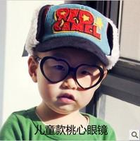 5Pcs/Lot Heart child glasses frame baby eyeglasses frame Free Shipping