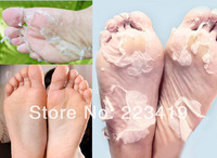 Free shiping New 3pairs=6pcs bamboo vinegar remove dead skin foot skin smooth exfoliating feet mask foot care