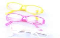 White collar fashion plain glass spectacles vintage plain mirror non-mainstream eyeglasses frame myopia  5pcs free shipping