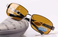 Popular design Noctovision male sunglasses polarized sunglasses driver mirror sunglasses day and night  5pcs free shipping