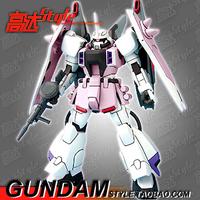 HG1: 144 SEED-28 Thunder dedicated white Zaku Phantom instant hair stand Japanese cartoons military robot War model 14cm