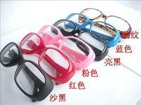 Free shipping Vintage glasses plain eyeglasses frame plain mirror plain glass spectacles non-mainstream glasses 9021  5pcs
