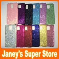 Glitter Bling Case for Samsung Galaxy S5 i9600 Hard Plastic Back Cover 10 pcs/lot