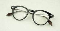 Discount Accessories wholesale Plain mirror rivet decoration metal alloy glasses qs062  10pcs/lot