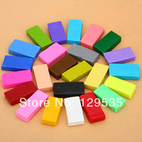 2014 New 24PCS Colorful FIMO Effect Polymer Clay Blocks Soft