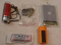 Lifebelts 5 field piece set lifebelts mirror flash matches compass whistle