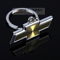 4s CHEVROLET single face laser three-dimensional metal emblem key chain male car keychain