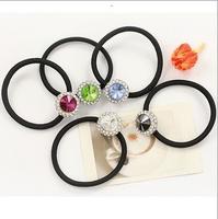 Headband hair accessory satellite stone rhinestones  headband hair rope rubber band female 10