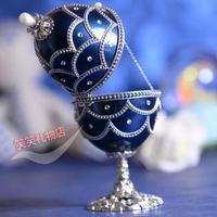Heart lovers crystal ball music box married birthday gift love romantic souvenirs egg music box