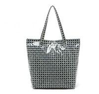 H1552 PP Beautiful Casual Geometric Pattern Shopper Tote Handbag Free shipping wholesale dropshipping M13