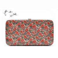 HB733  FF Beautiful Floral Clutch Purse Wallet 200g  BOHEMIAN Drop shipping /Wholesale Free Shipping