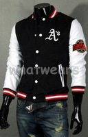 Free Shipping Mens Baseball Uniform Sport Coat Jacket [07-1113] 482 681