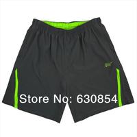 Free shipping 2014 new Hot breathable running shorts men's basketball Fitness Tennis Shorts L XL XXL XXXL