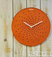 GOOD BULK PRICE Noise-elimination Quartz Wall Clock Abstract Pattern Laser Carving Creative Design