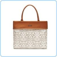 Free Shiping 1pc retail 100% high quality leather women bag  biyibi women cluth bag#51811