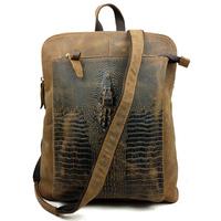 Cowhide leather women backpack lady retro bag leisure Shoulder Bag multifunctional travle backpacks genuine leather backpack
