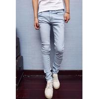 2014 men's clothing water wash light color pencil pants jeans trousers 281-j90-75