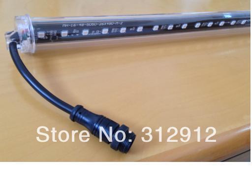 10pcs DMX512 360 3D LED digital meteor tube;3D waterfall lighting tube;1.0m long;16pixes/each tube;IP65;DC12V;24W;30mm diameter(China (Mainland))
