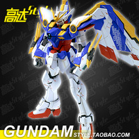 Gundam edition high flying wing model KA fly MG030 wiper stentless Japanese cartoons military robot toy building War model 19cm
