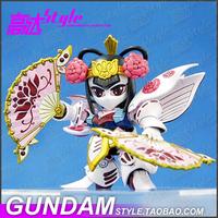 A016 Heroine women, SD BB Fighter Q True Sangokuden Gundam Japanese cartoons military robot building War model