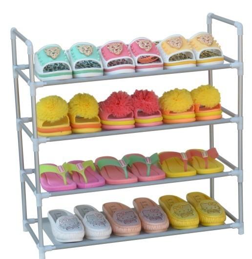 Simple woven shoe rack shoe racks dust shoe versatile special promotions shipping(China (Mainland))