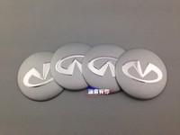 Infiniti rim car rim emblem refires decoration stickers metal label