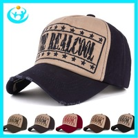 Fashion baseball caps  six colors snapback hats caps men with letter print