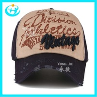 wholesale  baseball caps adjustable hat men with letter print  outdoor sport hat  in autumn