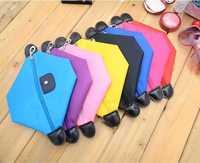 Free shipping women's fashion pink ears Cosmetic makeup organizer bag designer clutch bag 5 clor