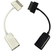 USB Host OTG Cable Adapter for Samsung Galaxy Tab P7500 P7510 P7310 P7300 P1000 black or white