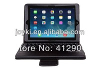 Wireless Removable Bluetooth Pu leather Keyboard Case for apple ipad air