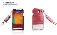 Lanyard case for samsung galaxy note 3 n9000 n9006  leather phone bags for SAMSUNG note3 n9000 phone cases