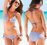 victoria swimwear women  vintage bathing suit striped brand bikinis set push up bikini monokini beach cloth 1pc