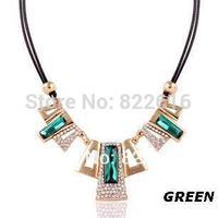 Fashion Alloy Chain Choke Bone Necklace Retro Style Pendants Christmas Gifts Sweater Necklace Wholesale