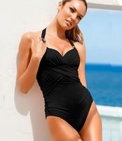 one piece swimsuit outdoor fun & sports piece swimsuit monokini maillot de bain pure color 1pc