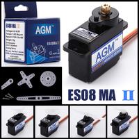 4x AGM ES08MA II Mini Metal Gear Analog Servo 12g/ 1.6kg/ 0.12 Sec