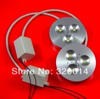 Free Shipping Dimmable 3x3W Led Ceil light /Led Down light / Led Puck Light