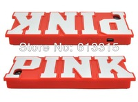 PINK  3D Silicone Case Secret for iphone 4 4s 4g