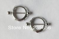 New 2014  nipple rings earrings 316L Body piercing jewelry   free shipping 2pcs/lot  RH0302