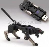 Free shipping robot dog usb 2.0 32gb 64gb usd disk,16gb 32gb 64gb USB Flash Drive 2.0